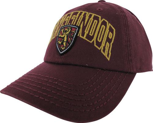 0fa711f027476 Harry Potter Gryffindor Name Crest Snapback Hat hat-harry-potter-gryffindor -name-sp