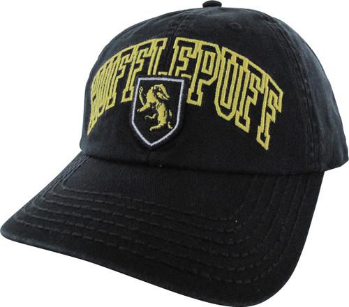 Harry Potter Hufflepuff Name Crest Snapback Hat hat-harry-potter -hufflepuff-name-sp 69b183839cbb