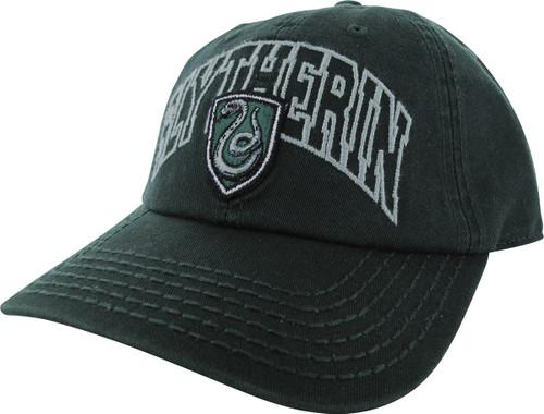Harry Potter Slytherin Name Crest Snapback Hat