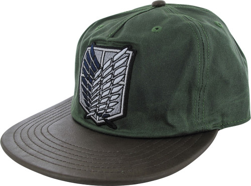 Attack on Titan Scout Crest Green Buckle Hat