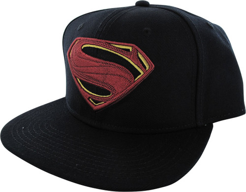 Superman Logo Justice League Movie Snapback Hat