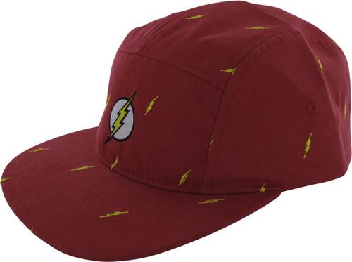 Flash Logo Camper Red Buckle Hat