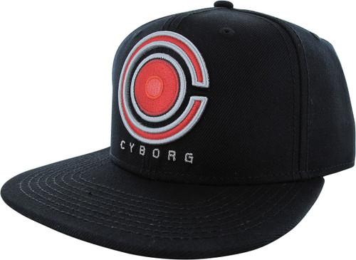 Justice League Movie Cyborg Logo Snapback Hat