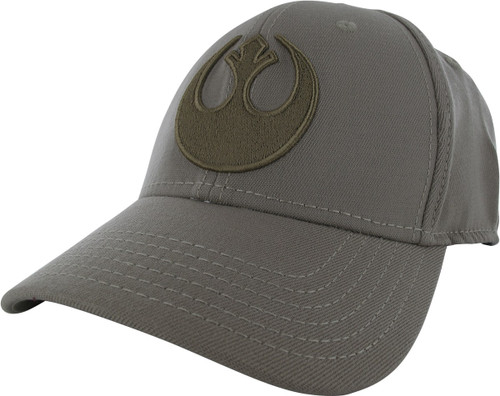 Star Wars Rebel Logo Tan Flex Hat