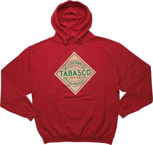 Tabasco Sauce Logo Distressed Hoodie