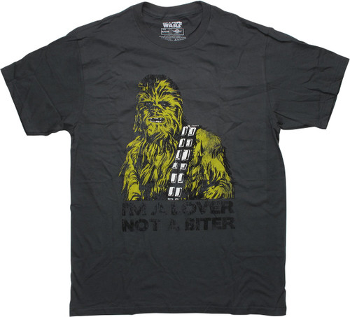 Star Wars Chewbacca Lover Not a Biter T-Shirt