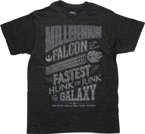 Star Wars Millennium Falcon Hunk of Junk T-Shirt