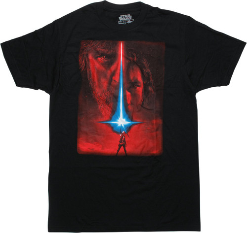 Star Wars Last Jedi Movie Poster T-Shirt