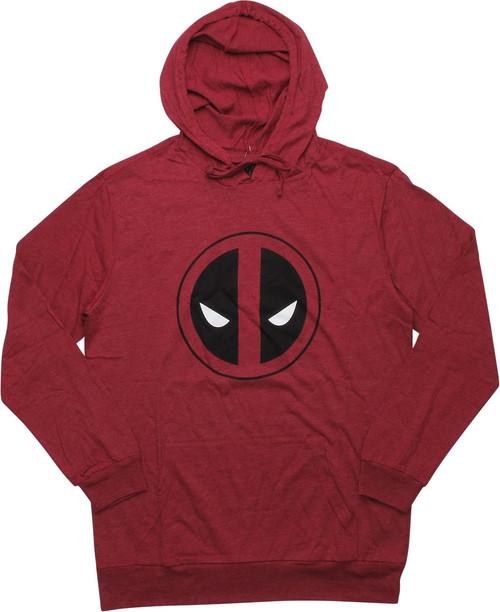 Deadpool Logo Lightweight Pullover Hoodie