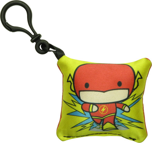 Flash Chibi Logo Pillow Keychain