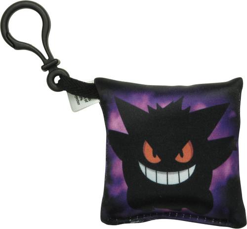 Pokemon Dark Gengar Pillow Keychain