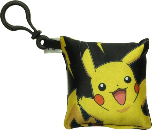 Pokemon Pikachu Thunder Bolt Pillow Keychain