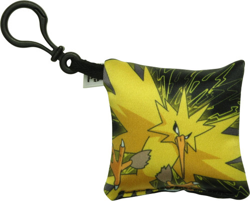 Pokemon Zapdos Pillow Keychain