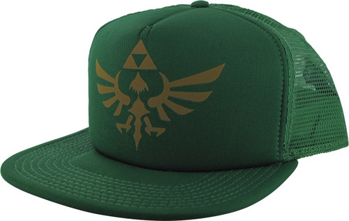 22983253 Zelda Skyward Sword Logo Snapback Trucker Hat