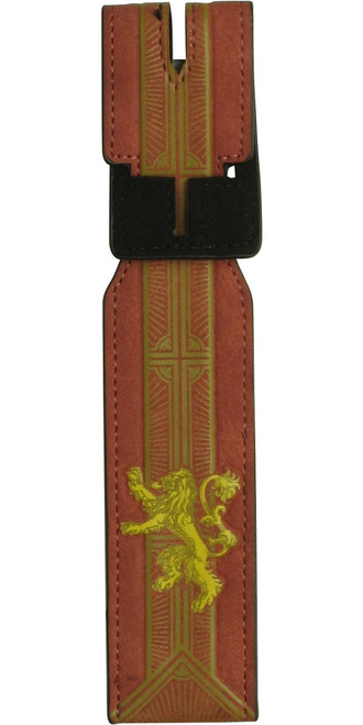 Game of Thrones House Lannister Luggage Tag