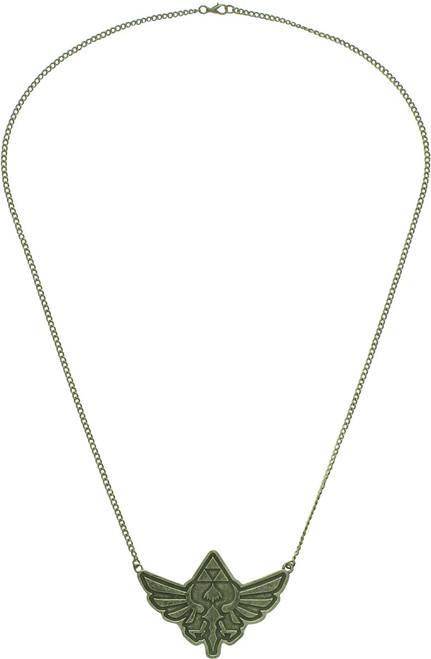 Zelda Skyward Sword Crest Antique Necklace