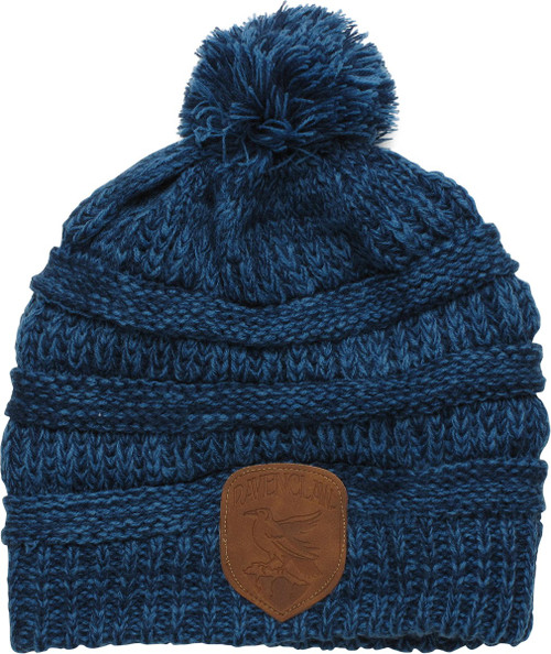 Harry Potter Ravenclaw Knit Pom Blue Beanie