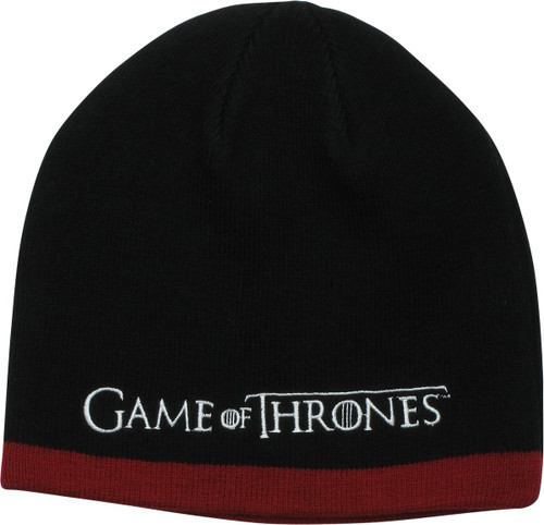 02bfe606af985 Game of Thrones Logo Winter is Coming Beanie