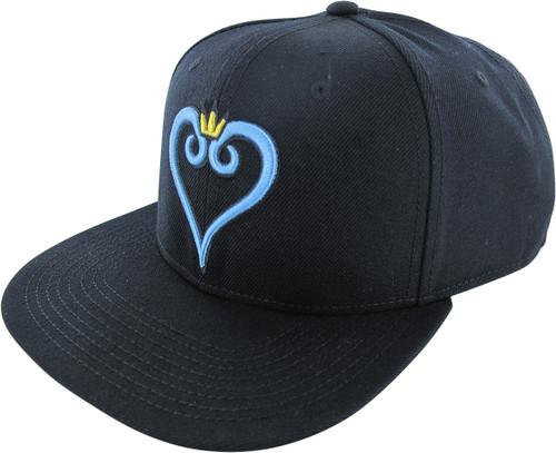 Kingdom Hearts Logo Snapback Black Hat