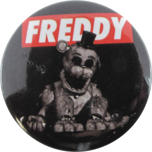Five Nights at Freddy's Freddy Fazbear Button