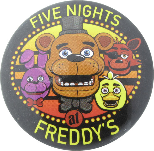 Five Nights at Freddy's Group Heads Button