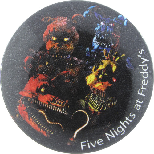 Five Nights at Freddy's Group Teeth Button