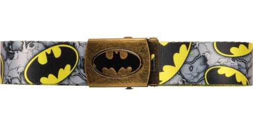 b2eaf71bf8f70 Batman All Over Logo Yellow Belt belt-batman-fb3s7abtm-mesh