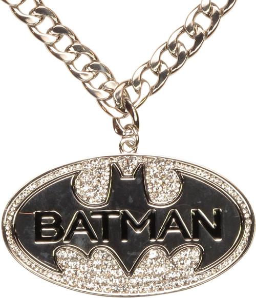 Batman Large Bling Logo Necklace