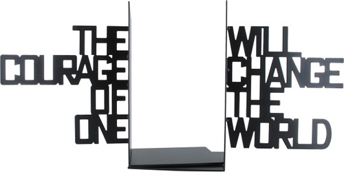 Hunger Games Courage Change the World Bookends