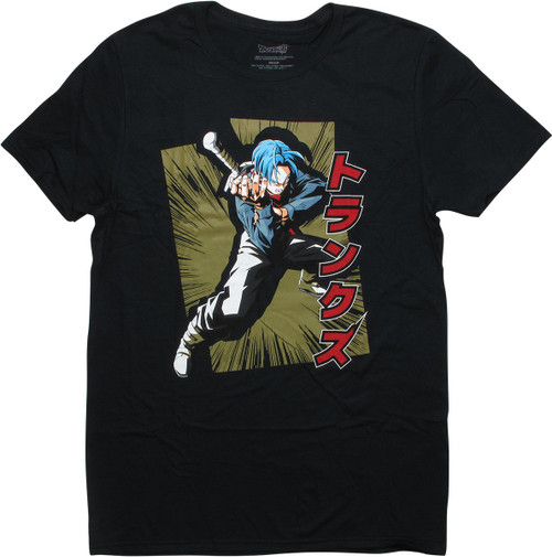 Dragon Ball Z Super Trunks Black T-Shirt
