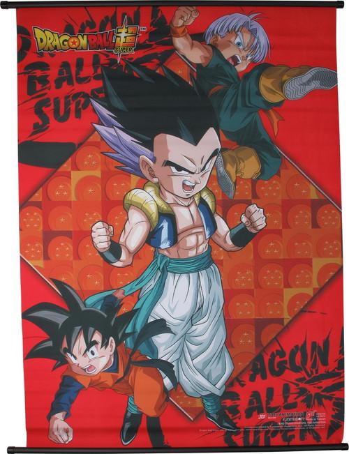 Dragon Ball Super Gohan Gotenks Trunks Wall Scroll