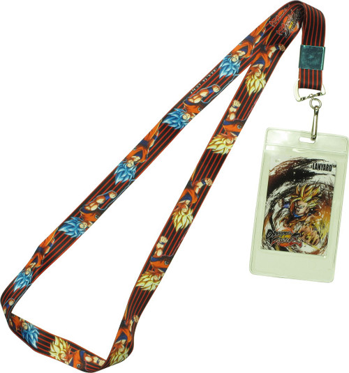Dragon Ball FighterZ SS Blue Goku Lanyard