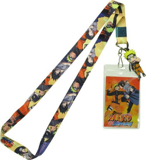 Naruto Shippuden Characters Lanyard