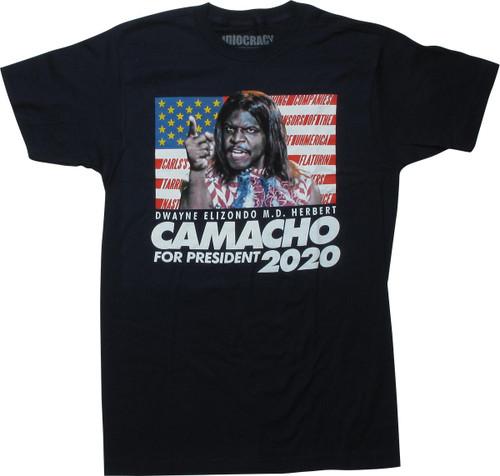 Idiocracy Camacho For President 2020 T-Shirt