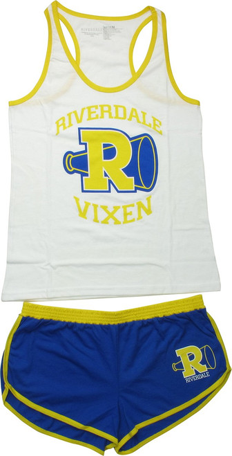 Riverdale Varsity R Vixens Junior Pajama Set
