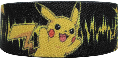 Pokemon Pikachu Electric Black Elastic Wristband