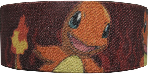 Pokemon Charmander Fire Red Elastic Wristband
