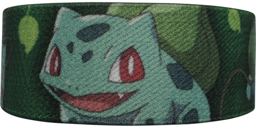 Pokemon Bulbasaur Leaves Elastic Wristband