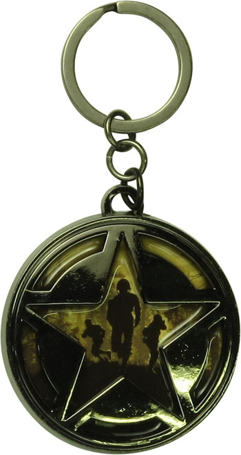 Call of Duty Star Emblem Keychain