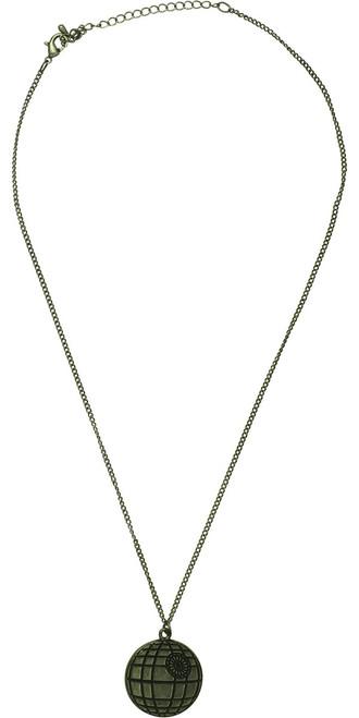 Star Wars Death Star Silver Necklace