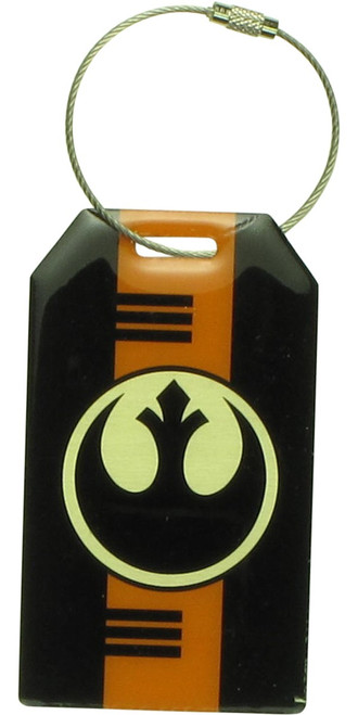 Star Wars TFA Poe X-Wing Rebel Logo Luggage Tag