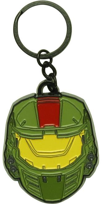 Halo Wars 2 Master Chief Helmet Metal Keychain