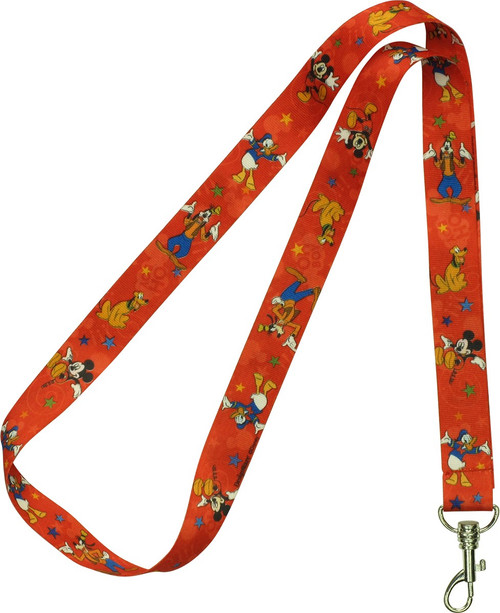 Mickey Mouse Clubhouse Characters Lanyard