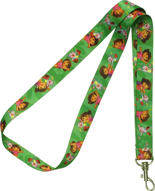 Dora the Explorer and Boots Green Lanyard