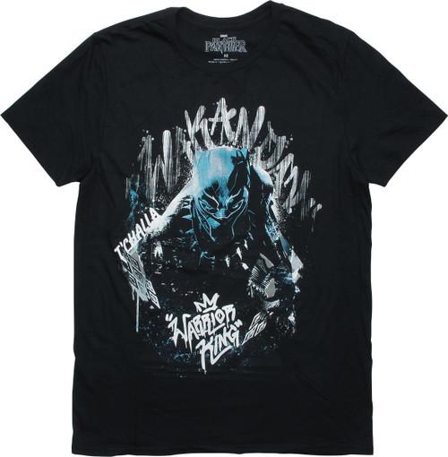 Black Panther Wakandan Warrior King T-Shirt
