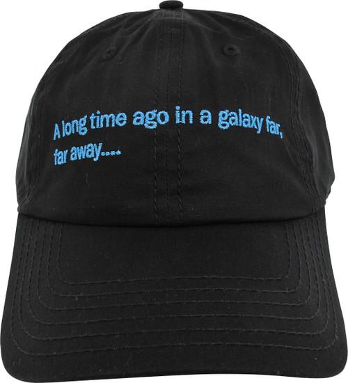 Star Wars In A Galaxy Far Far Away Buckle Hat