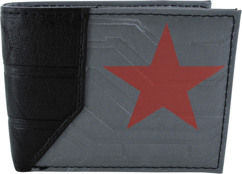 Captain America Winter Soldier Bi Fold Wallet