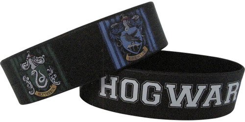 Harry Potter Hogwarts Alumni Rubber Wristband Set