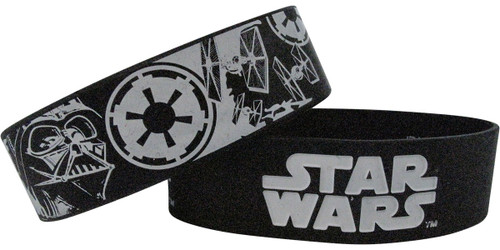 Star Wars Name and Empire Rubber Wristband Set