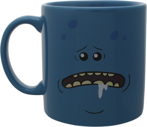 Rick and Morty Mr. Meeseeks Jumbo Coffee Mug